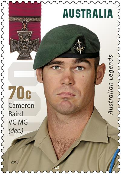 Victoria Cross Legends honoured on postage stamp