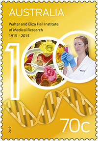 Australia Post celebrates Walter and Eliza Hall Institute of Medical Research centenary