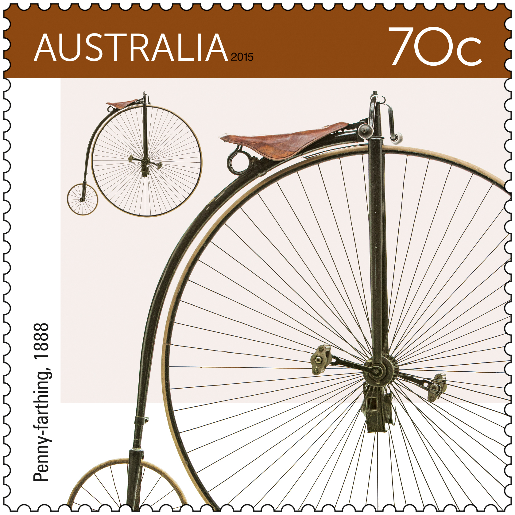 Australia Post pedals its new Bicycles stamp issue