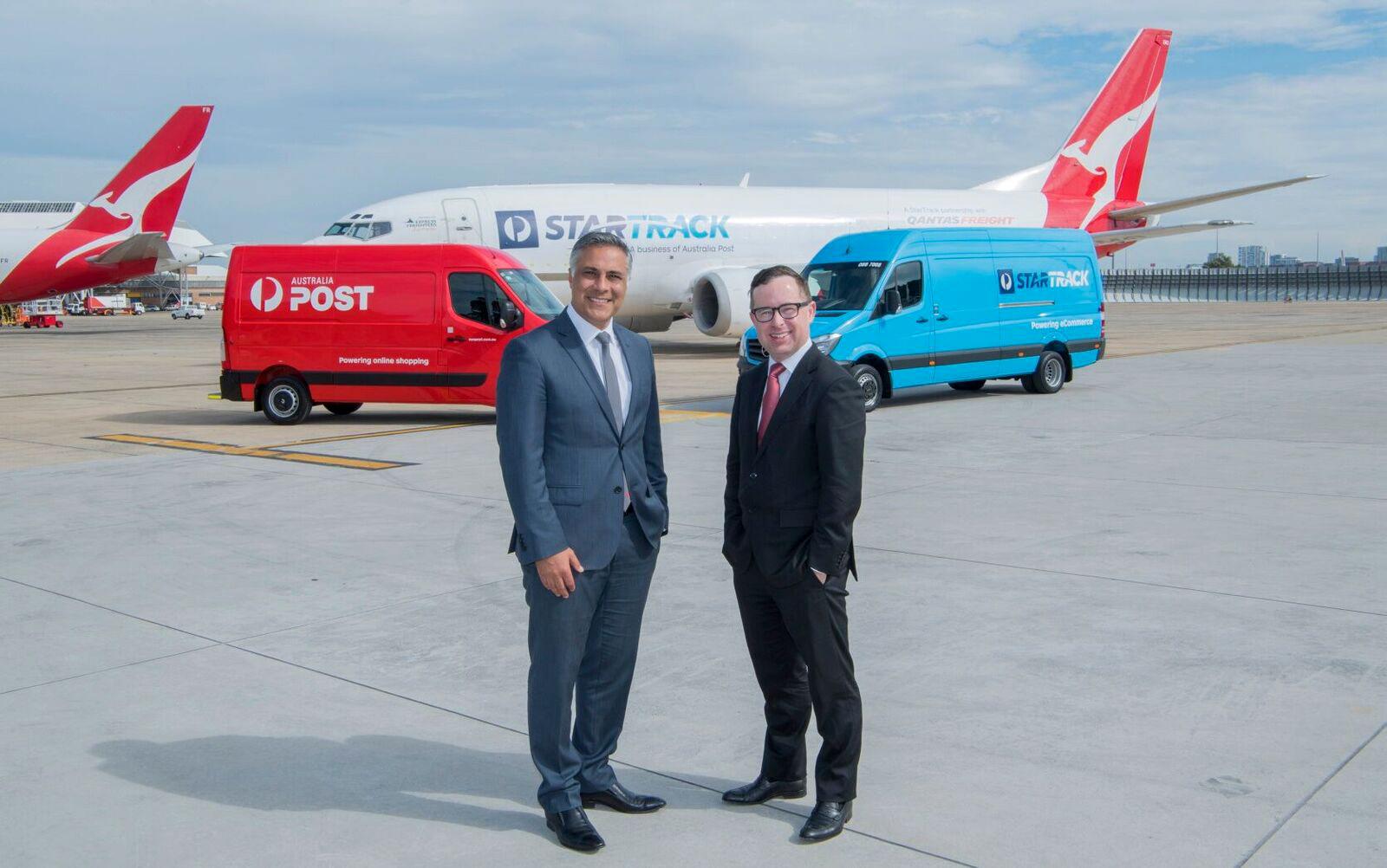 Qantas Freight And Australia Post Announce Dedicated Freighter Fleet