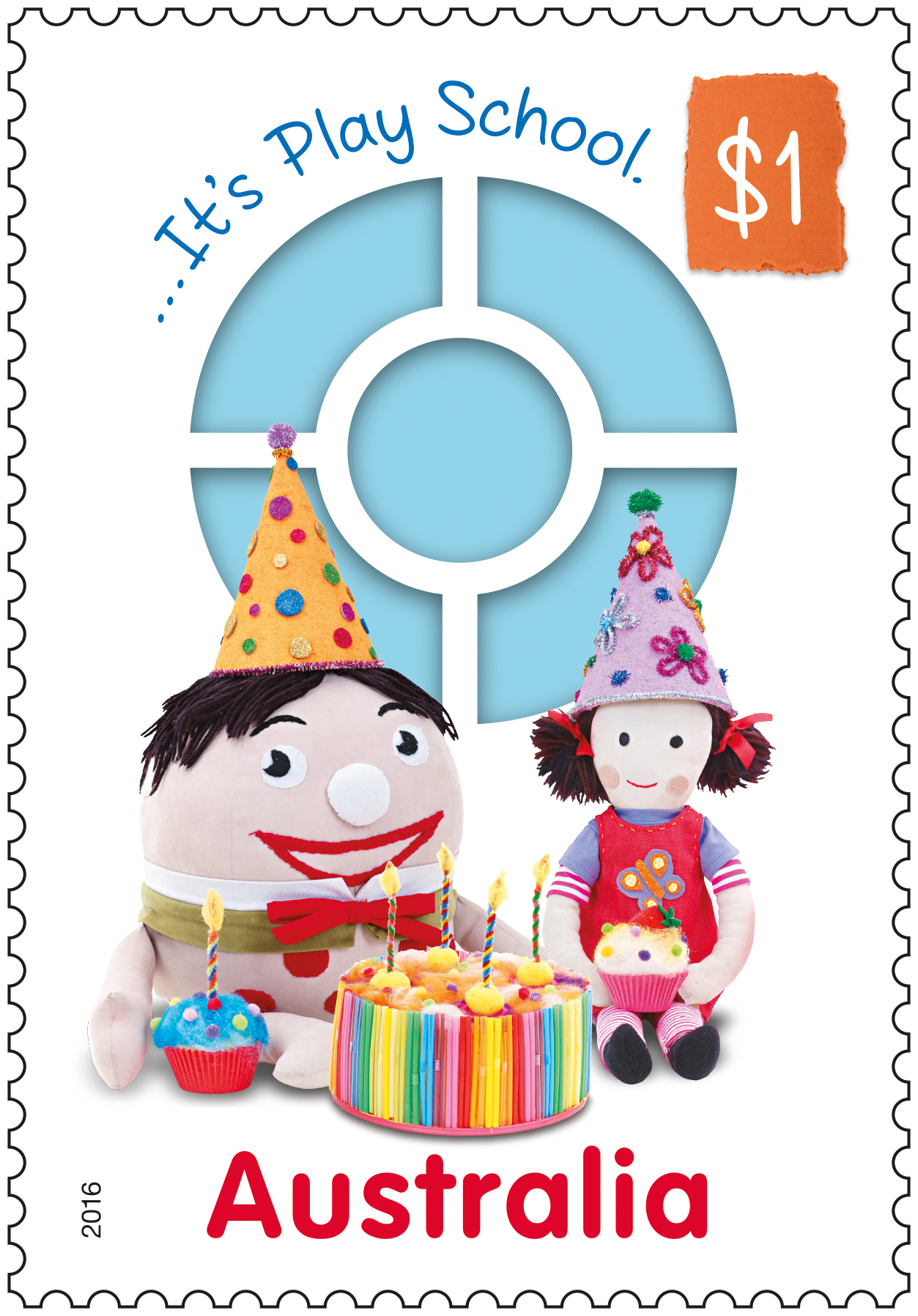 Australia Post celebrates 50 years of Play School