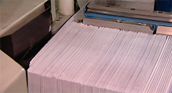 Australia Post letter processing and delivery.