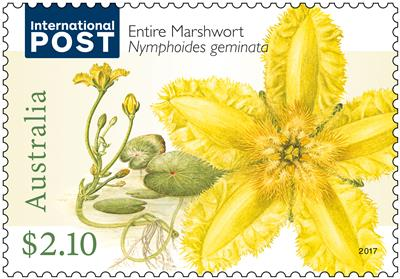 Water plants stamps