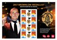 Australia Post celebrates the 2017 AFL Premiers and 2017 Brownlow Medallist