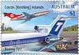 Australia Post stamps take flight over the Cocos (Keeling) Islands