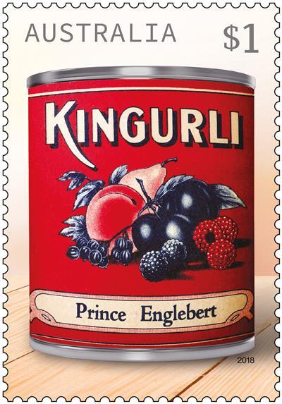 Kingurli Vintage Jam stamp
