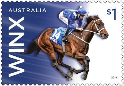 2018 Winx $1 Stamp