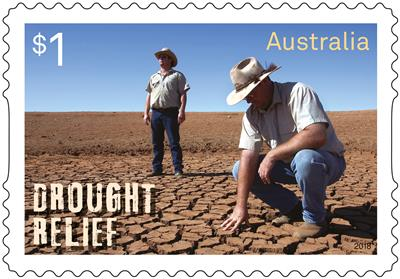 Australia Post supports drought-affected communities with special edition stamp